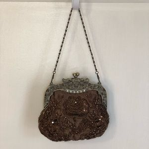 Sequined Evening Purse